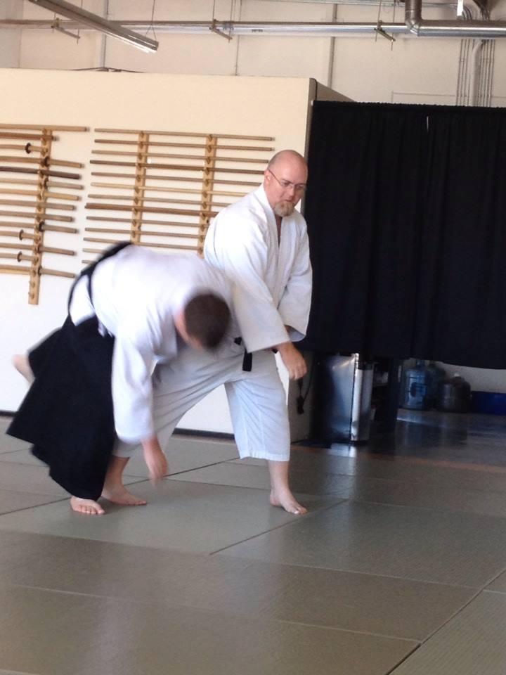 aikido judo - tai otoshi